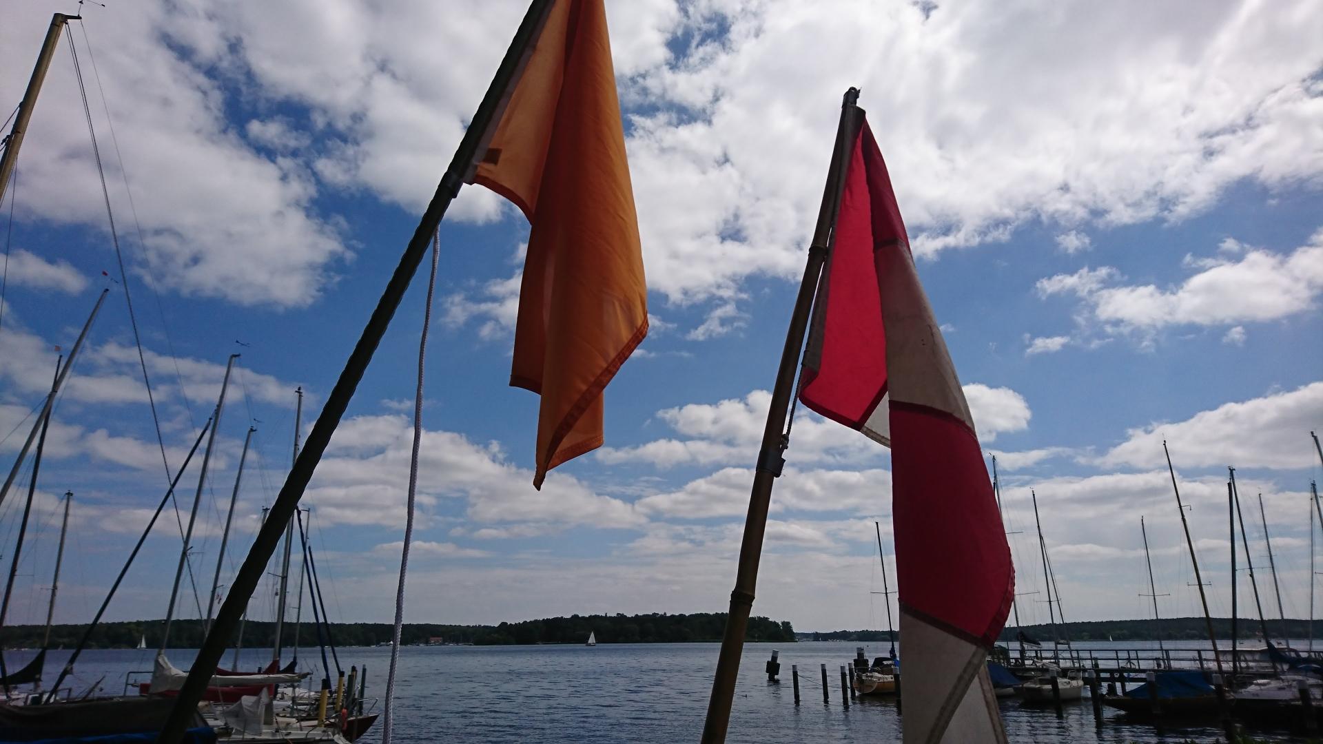 Keine Angst vor bunten Flaggen