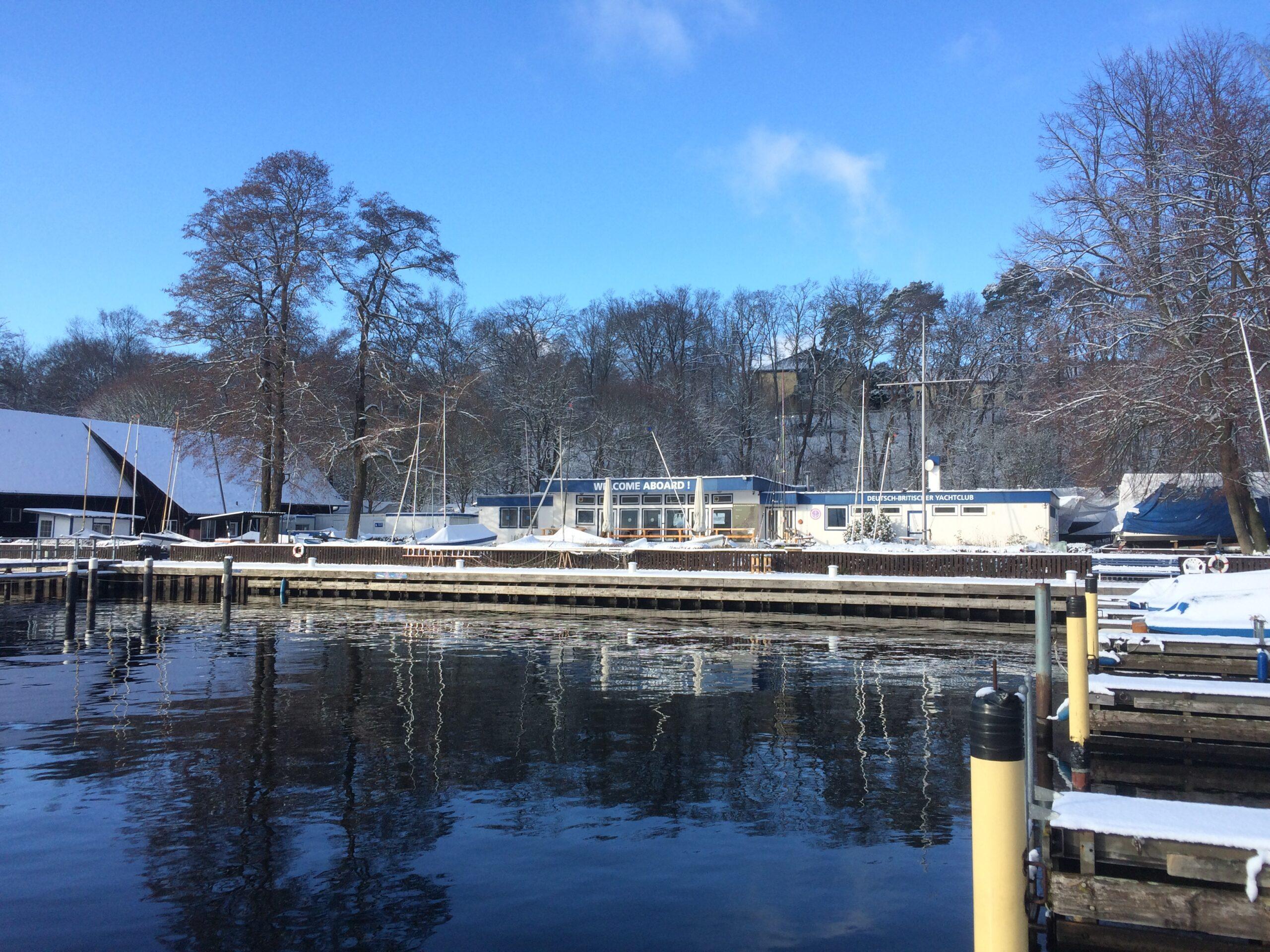 DBYC Clubhaus Impression Winter - 01/2021
